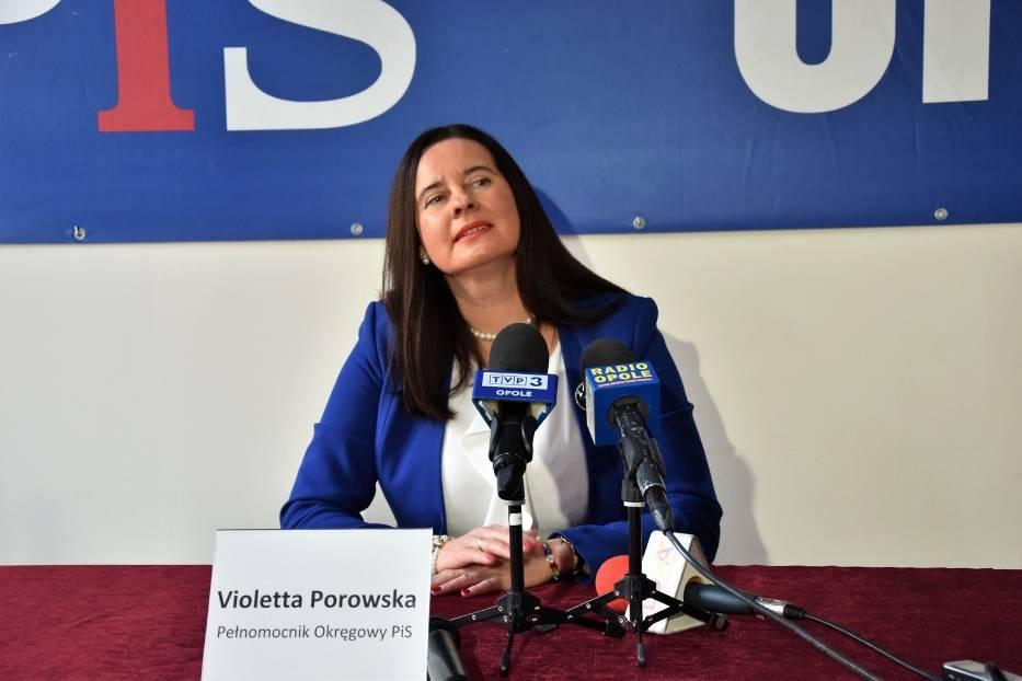 W kwestii spotu Violetta Porowska nie ma sobie nic do zarzucenia