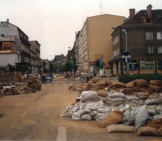Wtedy też był lipiec. Zobacz archiwalne zdjęcia z powodzi w Nowej Soli