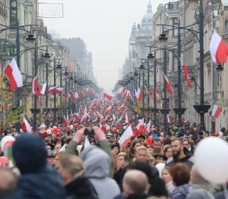 """Święto Niepodległości w Łodzi. """"Olbrzymi sukces frekwencyjny"""""""