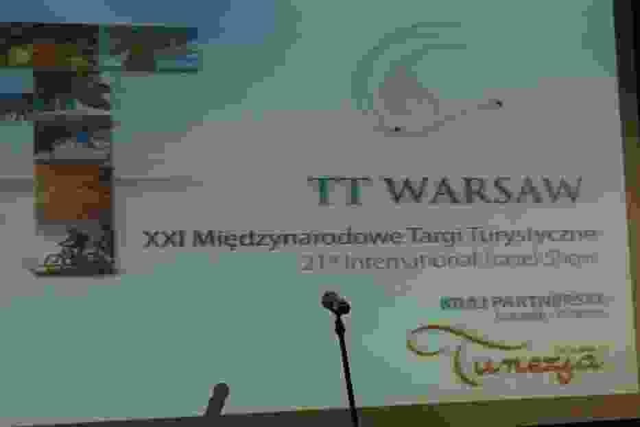 Baner Targów TT Warsaw