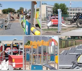 Budżet Obywatelski 2019 Włocławek. Rośnie plac zabaw przy ul. Łanowej [zdjęcia]