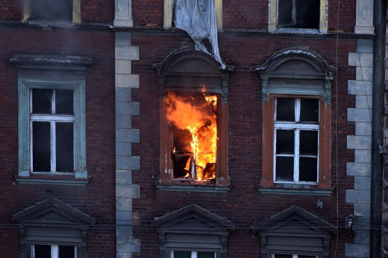 To już trzeci pożar kamienicy przy ul