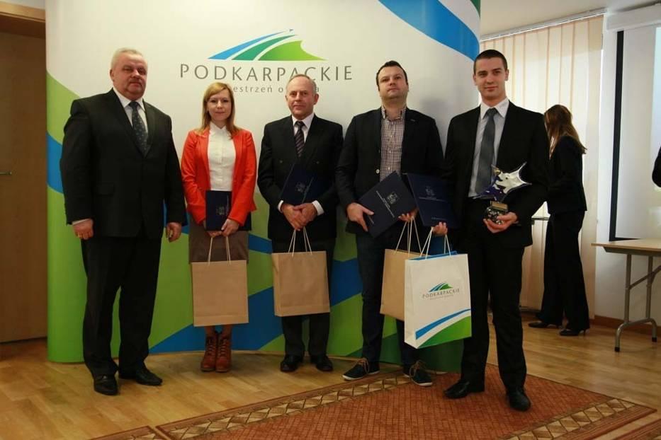 Zwycięzcy pierwszej edycji konkursu Unijne Perły Podkarpacia