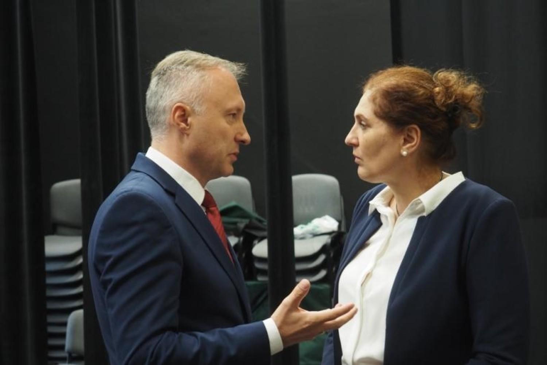 Nowy Sącz - Ludomir Handzel i Iwona Mularczyk