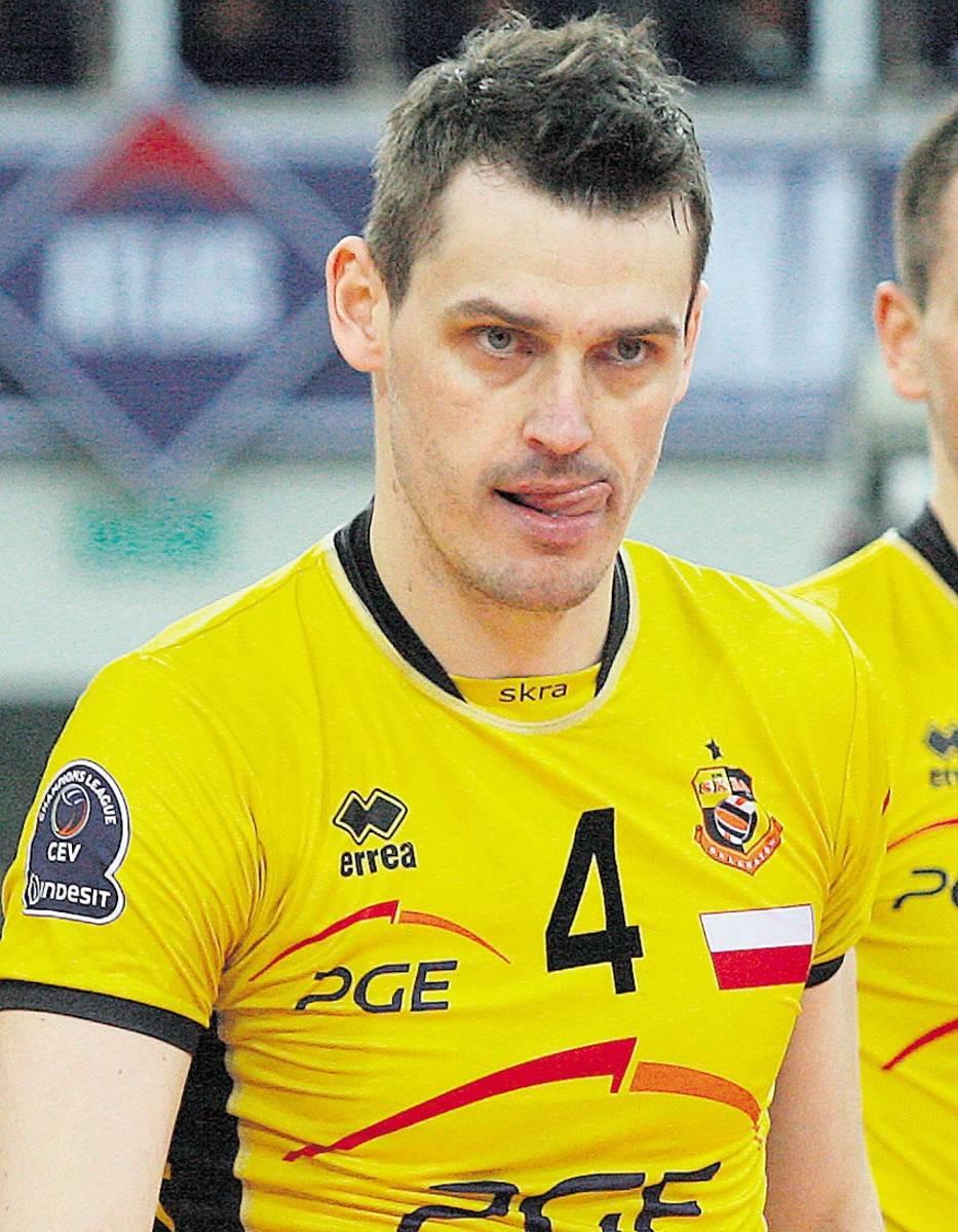 Daniel Pliński przed przyjściem do Skry grał w Jastrzębskim Węglu