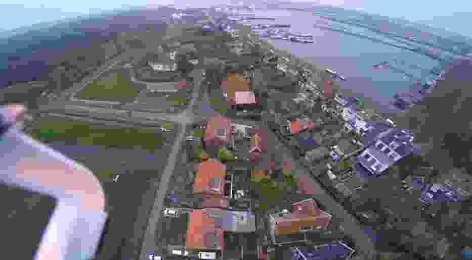 Wideo nagrywane dronem