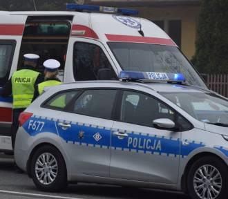 Dwoje pieszych potrąconych na ulicy Sieradzkiej w Wieluniu