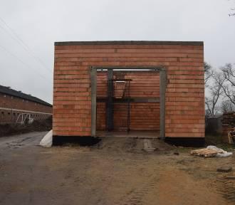 Widać już mury strażnicy OSP w Srocku Wielkim [FOTO]