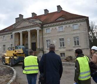 Pałac Lipskich w Lewkowie pięknieje! Będzie gotowy w 2021 roku