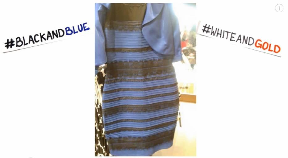 Internauci kłócą się o kolor sukienki! Takiej wojny dawno nie było