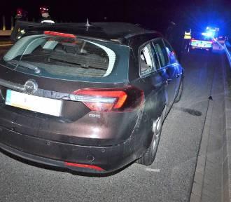 Na A1 samochód uderzył w łosia. W ten pojazd wjechało kolejne auto. Dwie osoby ranne
