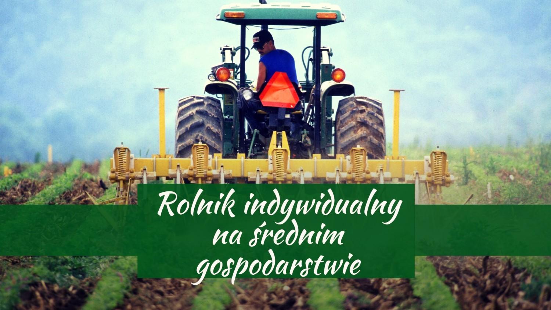 Rolnik indywidualny na średnim gospodarstwie - 36%