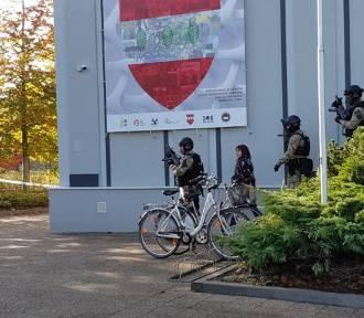 Widowiskowe ćwiczenia służb mundurowych odbyły się na terenie powiatu sztumskiego [ZDJĘCIA]