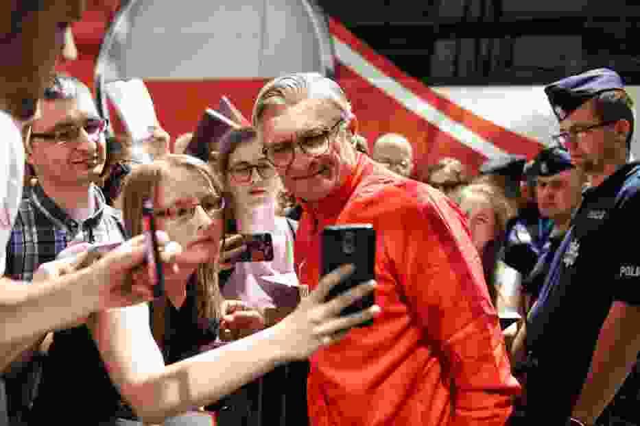 Reprezentacja Polski przyleciała do Poznania. Piłkarze zameldowali się w hotelu Sheraton