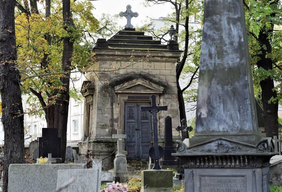 Nekropolie na kaliskiej Rogatce. Cmentarz grecko-prawosławny, inaczej Grecka Górka