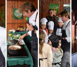 Karol Okrasa gotował i prowadził Masterchefa Kids na Święcie Lasu w Międzylesiu