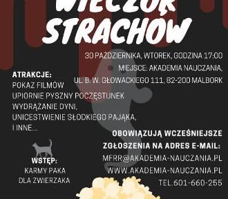 """Wieczór filmowy ze zbiórką dla malborskich """"Reksiaków"""""""