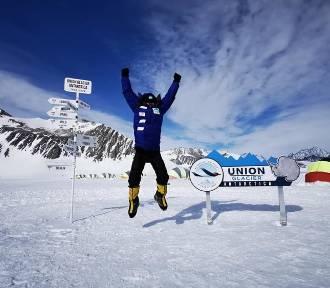 Niesamowite zdjęcia z wyprawy na najwyższy szczyt Antarktydy