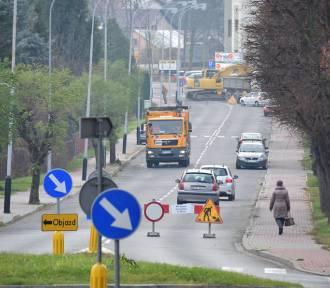 Utrudnienia w ruchu drogowym - na Zawodziu i osiedlu Generalskim