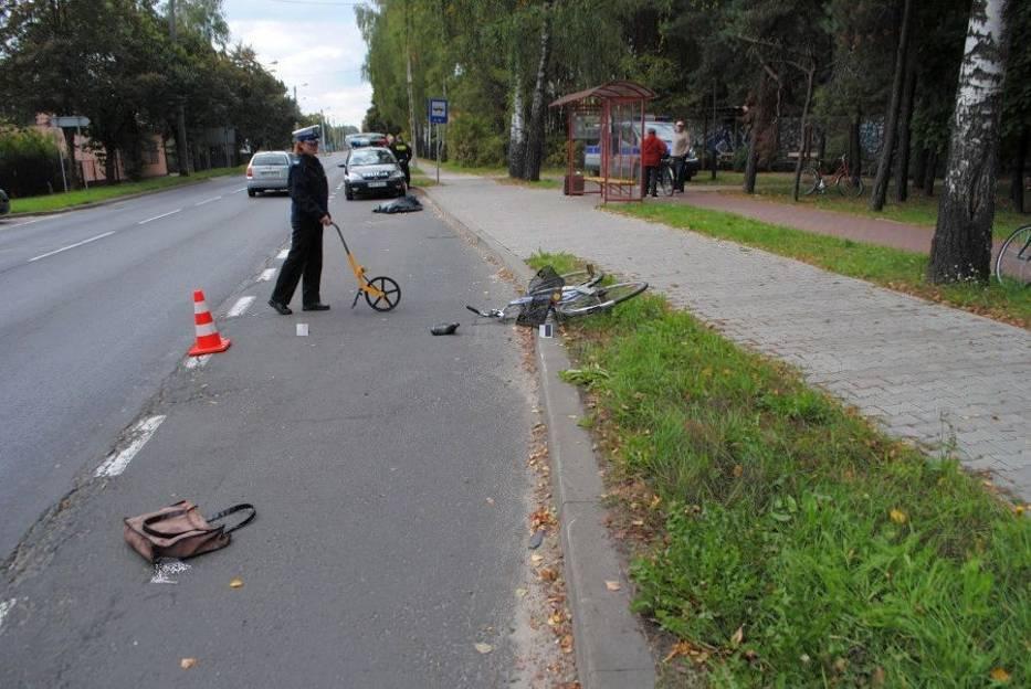 Śmiertelny wypadek w Bełchatowie