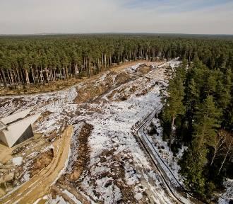Tak budują autostradę A1 w województwie śląskim ZDJĘCIA Z DRONA