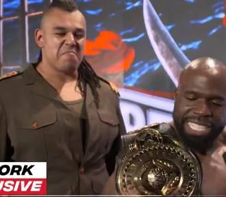 Oleśniczanin Babatunde Aiyegbusi zadebiutował na WrestleManii 37