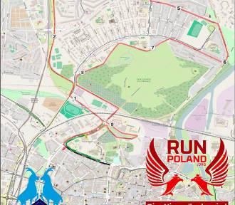 Tak wygląda trasa Biegu Niepodległości w Poznaniu