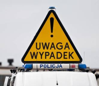 Wypadek samochodu Służby Ochrony Państwa w Rzgowie