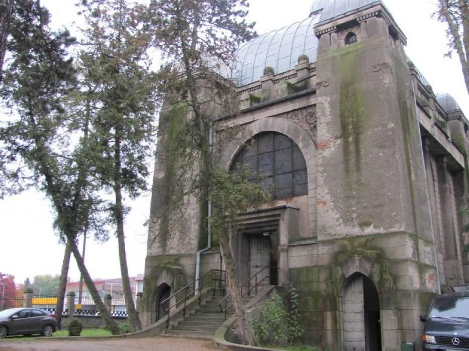 Kaplica Kindlerów na cmentarzu ewangelickim w Pabianicach