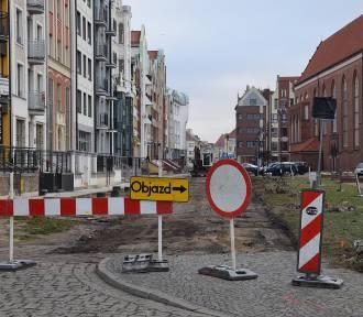Ulica Rybacka będzie jak nowa - trwa remont [zdjęcia]
