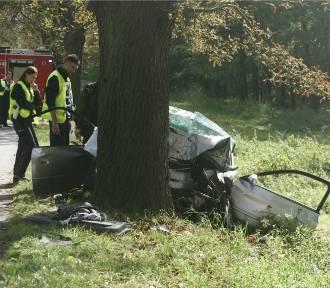 Śmiertelny wypadek koło Łodzi, zginął młody mężczyzna