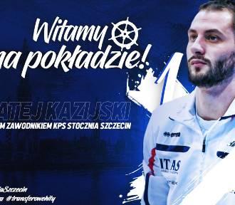 Matej Kazijski oficjalnie w Stoczni Szczecin