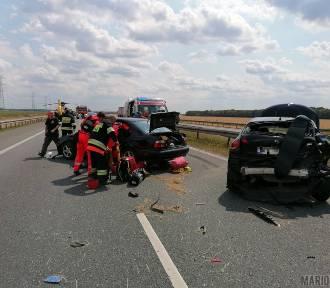 Trzy wypadki na autostradzie A4 i wypadek na DK 46