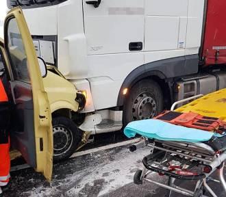 Wypadek na trasie Osie – Warlubie. Jedna osoba poszkodowana [zdjęcia]