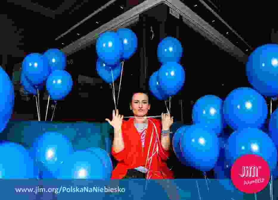 Gwiazdy włączają się w akcję Polska na Niebiesko. Ty też możesz!
