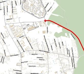 Kontrowersyjna droga przez las. Wraca temat łącznika ulic Bażantów i Szarych Szeregów MAPA