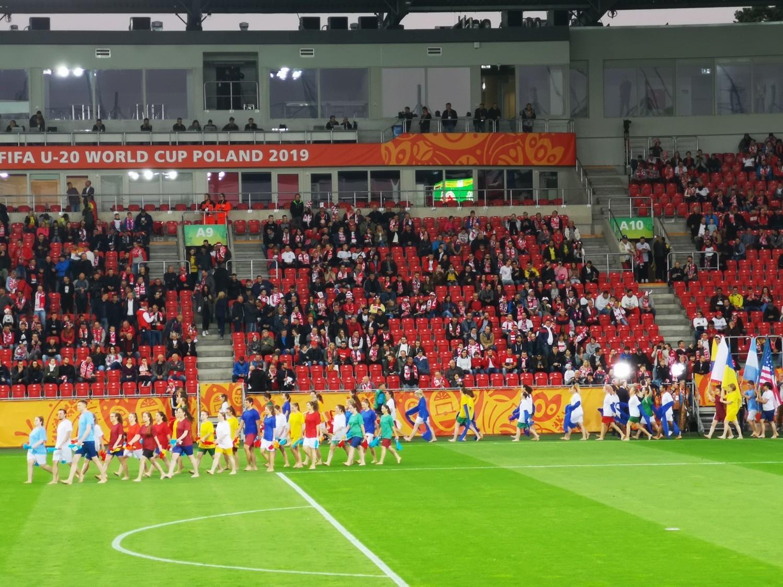 Mistrzostwa Świata U20. Na meczu Polski z Kolumbią nie zabrakło naszych kibiców