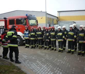 Ćwiczenia Państwowej Straży Pożarnej w Złotowie