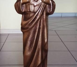 Kradzież figurek świętych na sierakowskim cmentarzu: Straty wynoszą kilka tysięcy...