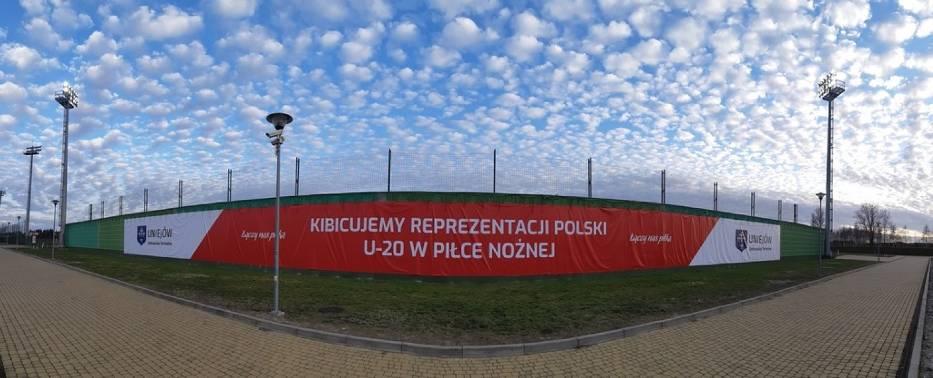 Uniejów kibicuje reprezentacji Polski U-20