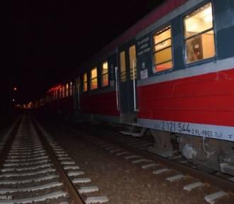 Mężczyzna wpadł pod pociąg. Nie żyje