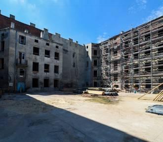 Rozpoczyna się remont trzech kamienic w centrum Łodzi