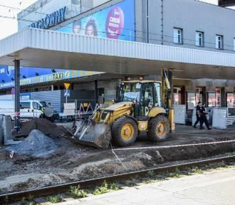 Dworzec PKP w Poznaniu: Peron czwarty w remoncie [ZDJĘCIA]