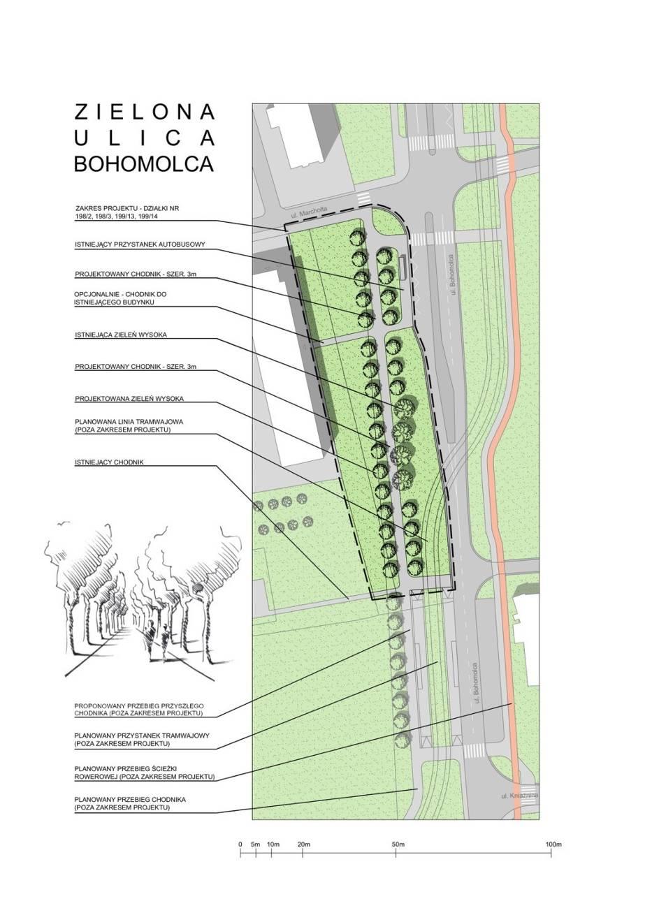 "Projekt ""Zielona ulica Bohomolca"""