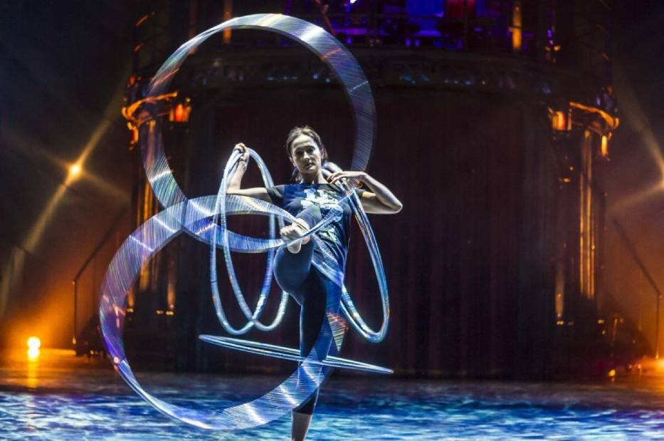 Cirque du soleil - wywiady z organizatorami i artystką [WIDEO]