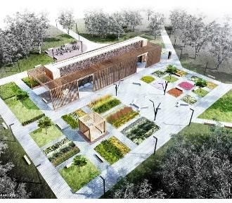 Projekt tężni solankowej w Ligocie jest gotowy. Jej budowa będzie droższa o pół miliona WIZUALIZACJE