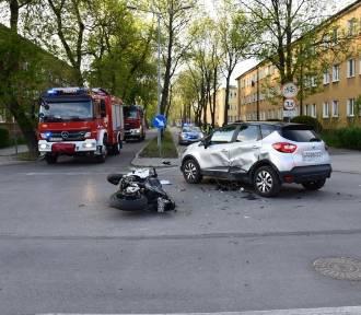 Tarnów. Seria wypadków motocyklistów. Zobacz zdjęcia
