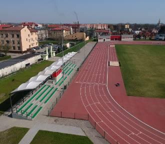 Wyróżniono stadion w Przemyślu [ZDJĘCIA Z DRONA]