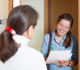 Próby wejścia do domów na ,,spis powszechny'' w Lesznie. Jak sprawdziś rachmistrza?