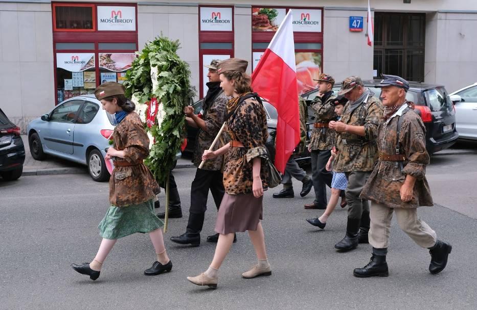 Marsz Hołdu i Pamięci w Warszawie